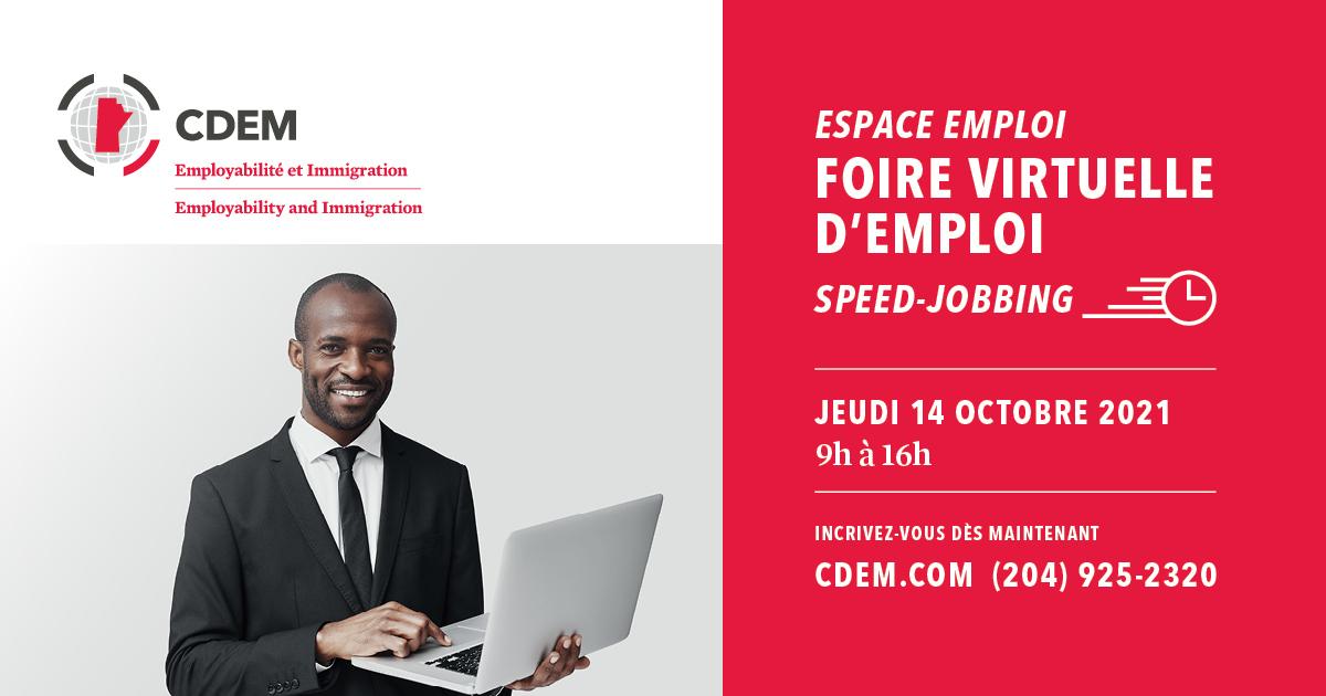 foire virtuelle d'emploi cdem 14 octobre