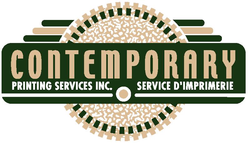 contemporary printing logo